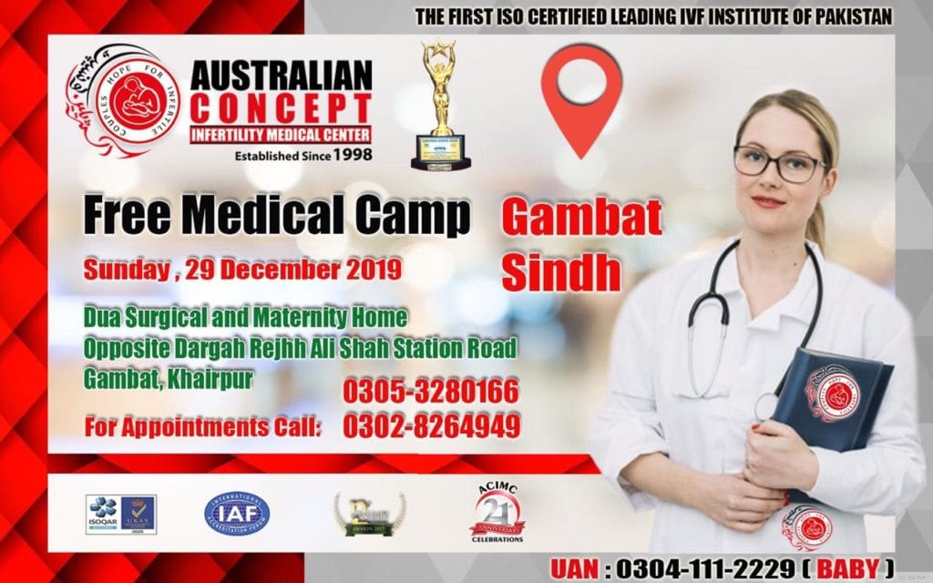 ACIMC GAMBAT, SINDH FREE MEDICAL CAMP